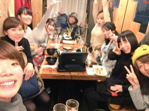 福岡ダンススクールリアン食事会